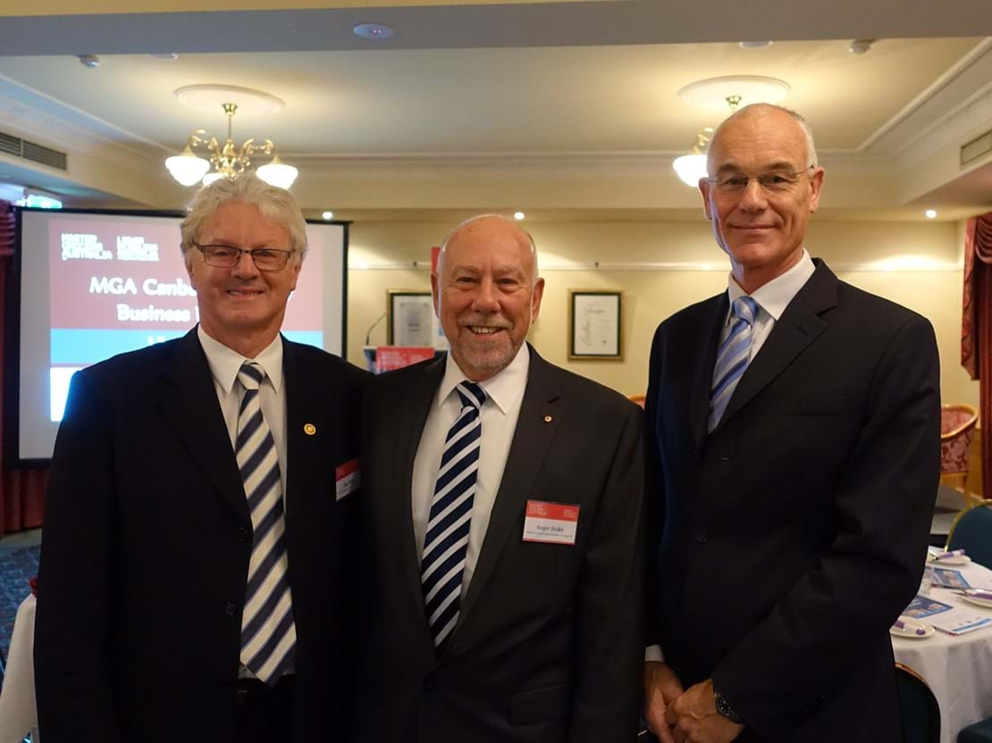 Rod Allen, Roger Drake - CEO Drakes Supermarkets and Jos de Bruin